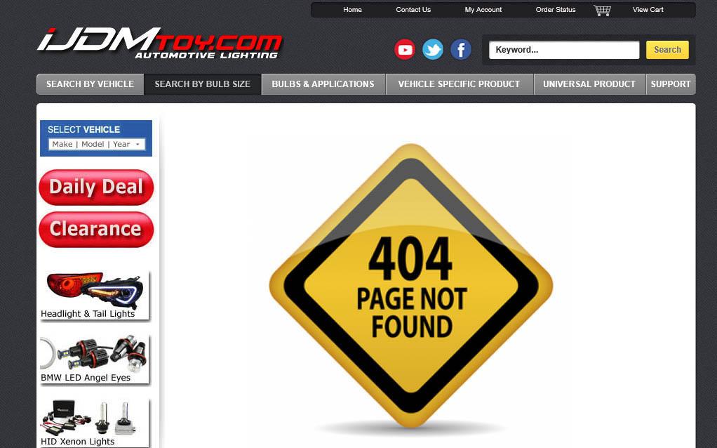 iJDMTOY.com 404 Error Page