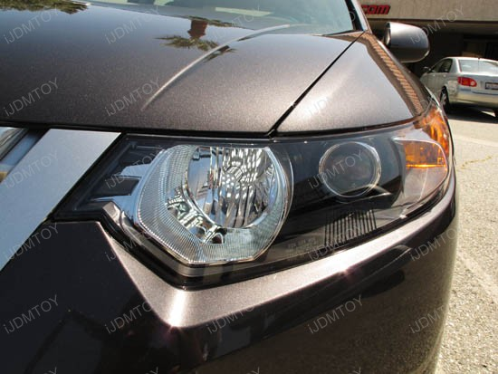 Driving Lights With 68 Smd Bulbs On Acura Tsx Ijdmtoy Automotive Lighting Blog