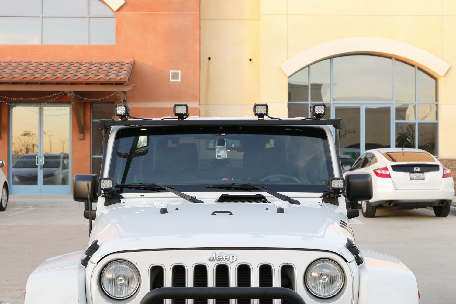 How Many Led Lights Can You Equip Onto A Jeep Wrangler Ijdmtoy Light Mounts And While It Provides Sufficient Amount Of For Rural Areas Or Nighttime Occasions There Is Always Room More Lighting Including The Pillar