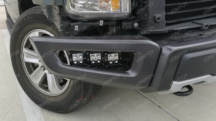 2017 Up Ford Raptor Tri Led Fog Light Install Guide