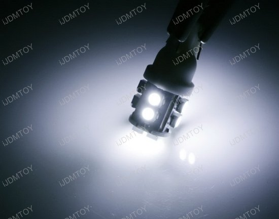 18 SMD 168 194 T10 LED Bulbs