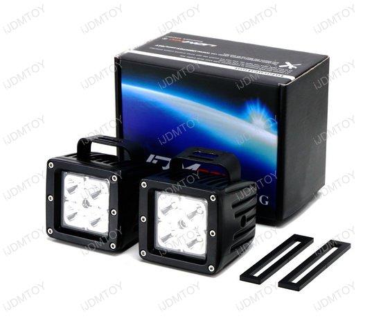 GMC Sierra Cube LED Fog Light Kit