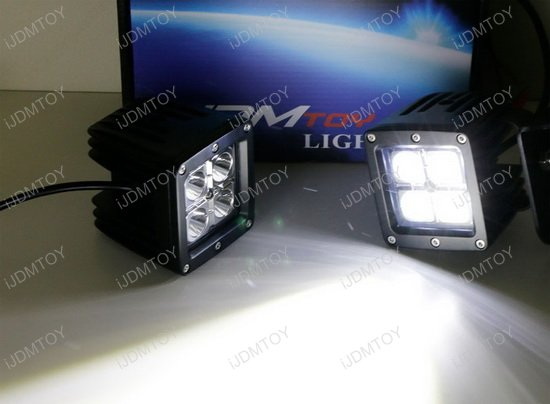Chevy GMC Rear Mount LED Pod Light