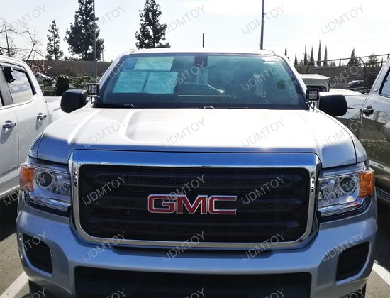 Chevy GMC A-Pillar LED Driving Light