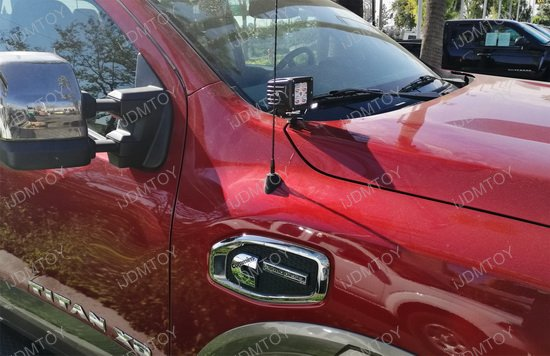 Nissan Titan A-Pillar LED Driving Light