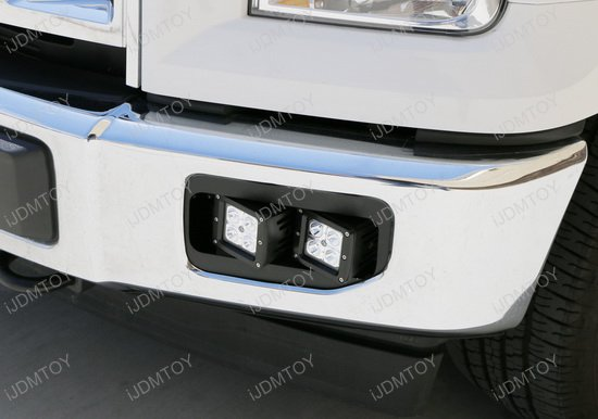 Ford F150 Dual LED Fog Light Kit