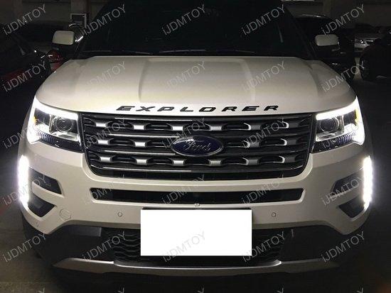 2016 & 2017 Ford Explorer High Power Daytime Running DRL ...