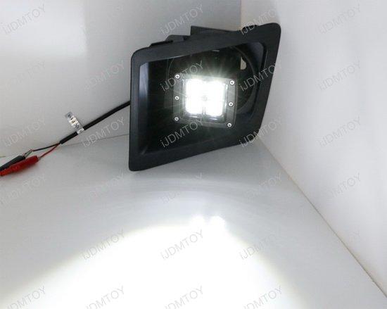 GMC Sierra 1500 LED Fog Light Kit