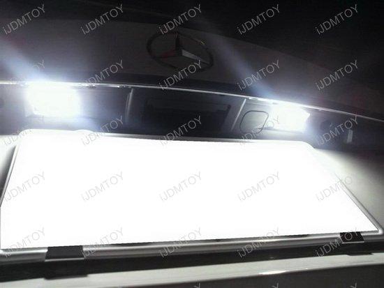 Mercedes OEM Fit LED License Plate Lights