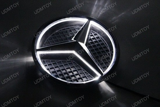 Mercedes benz led illuminated star kit for Mercedes benz led star