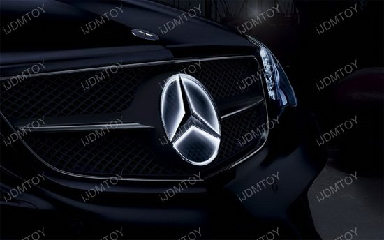 Mercedes Benz Led Illuminated Star Kit