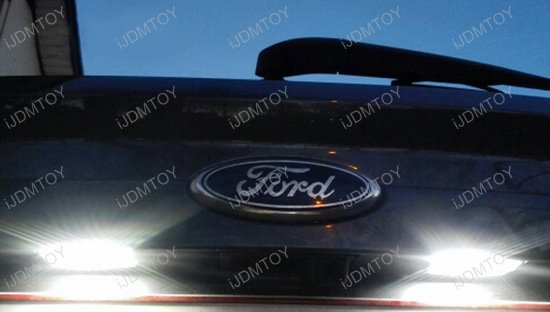 Ford Edge C Max Jaguar Xf Xj Oem Replace 3w Led License