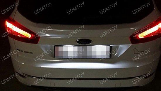 Ford Edge C Max Jaguar Xf Xj Oem Replace 3w Led License