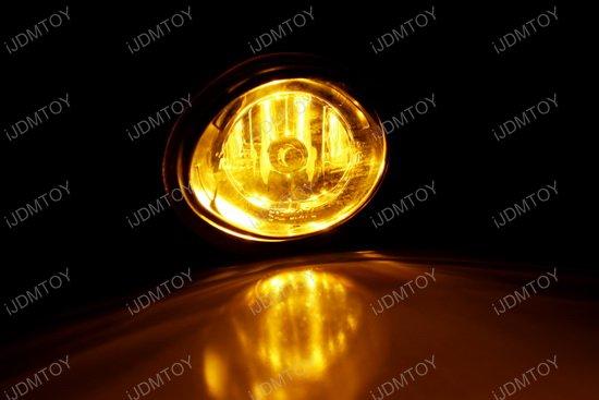 2001-2005 BMW E46 OEM Style Selective Yellow Lens Fog Lights Fog Lamps