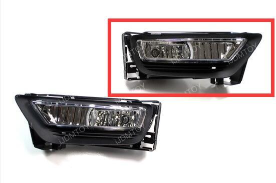 2013-2015 HONDA ACCORD SEDAN OEM Style Clear Lens Fog Lights Fog Lamps