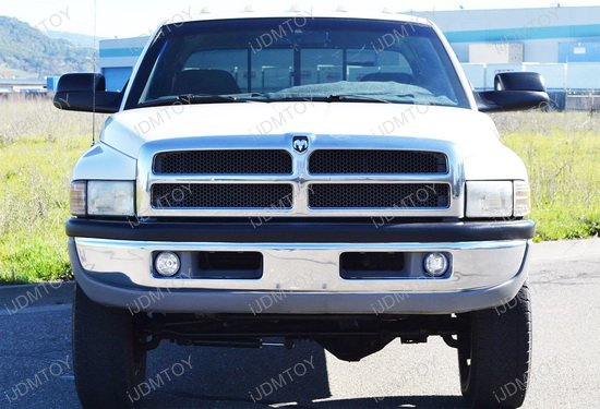 1994-2001 DODGE RAM OEM Style Clear Lens Fog Lights Fog Lamps