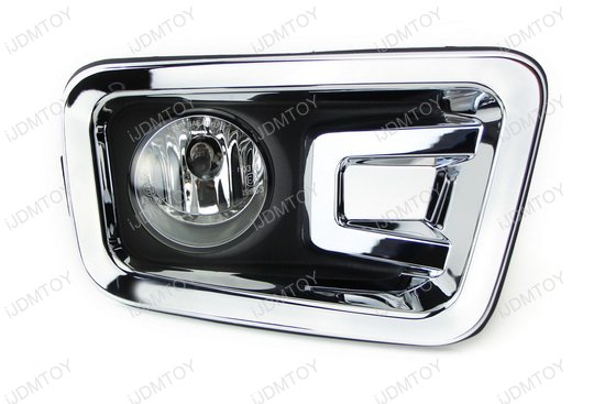 2016-2017 Nissan Titan Clear Lens Fog Lights