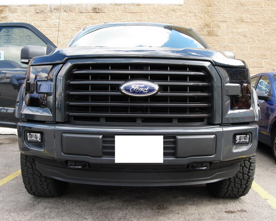 ford f 150 f 250 f 350 high power osram led fog light. Black Bedroom Furniture Sets. Home Design Ideas