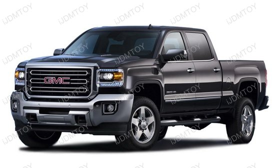 GMC Sierra 2500HD Fog Lamps
