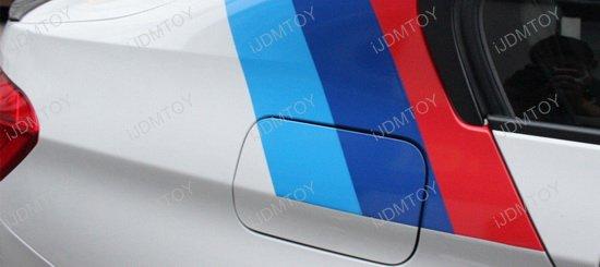3 Color Hood Stripe