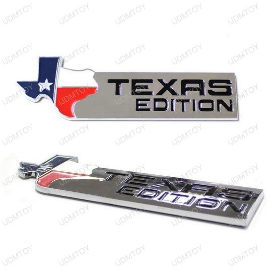 Texas Map Emblem