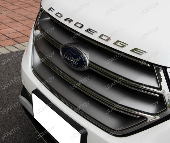 Front Hood 3d Letters Stickers Fit For 2014 Up Ford Edge