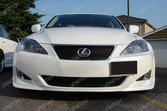 Lexus IS CT Tow Hole License Plate Relocator