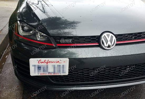 Volkswagen GTi/Golf Tow Hole License Plate Relocator