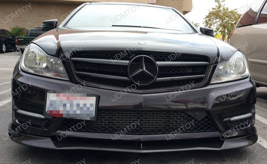 Mercedes Tow Hole License Plate Relocator