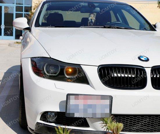 BMW Exx 1 3 5 Series X5 X6 Tow Hook License Plate Mount Bracket