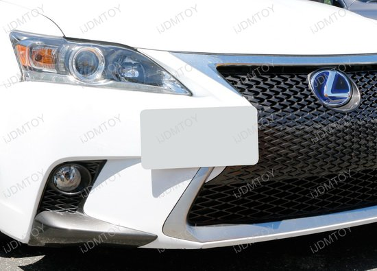 Lexus IS Tow Hole License Plate Relocator