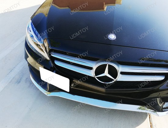 Mercedes Benz Tow Hole License Plate Relocator