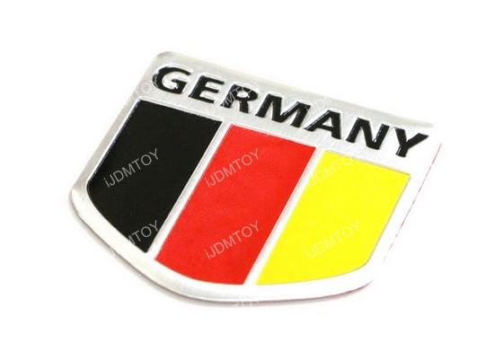 Germany Alluminum Badge