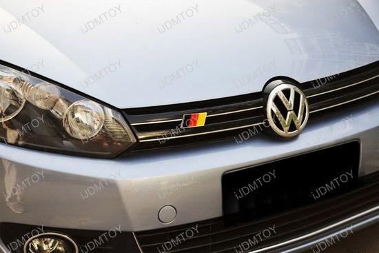 Germany Flag Badge Emblem For Car Front Grille