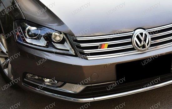 Germany Flag Grille Emblem Badge For European Cars Decoration