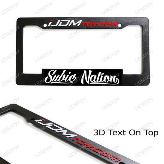 Subie Nation License Plate Frame