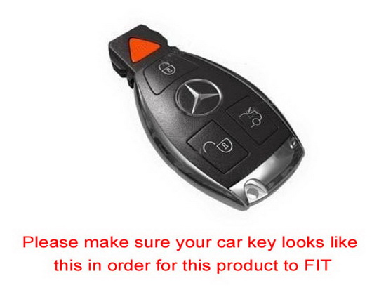 3D Leather Key Holder For Mercedes