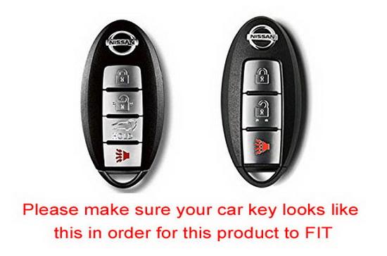 Nissan Armada Rogue Gt R Murano Fob Shell Remote Keyless Key Holder