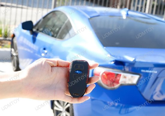 Subaru Leather Key Holder