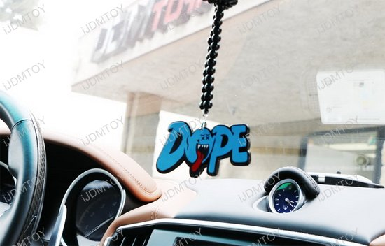 Rearview Mirror Hanging Charm Dangling Beaded Pendant For