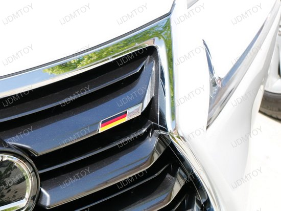 Germany Flag Badge Emblem For Car Front Grille