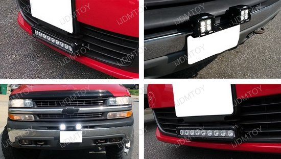 Heavy duty front bumper license plate bracket holder for led light heavy duty license plate mount bracket mozeypictures Images