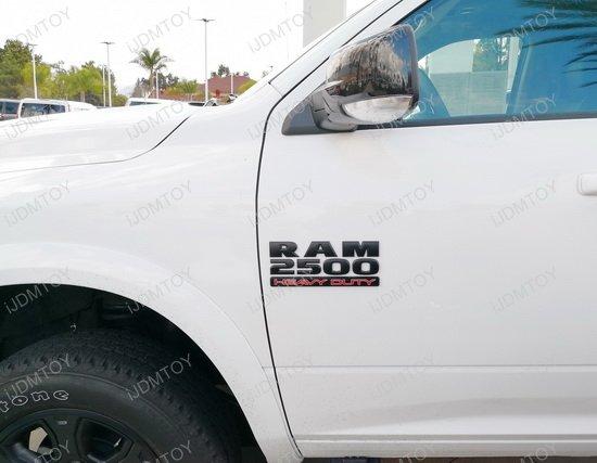 Dodge RAM 2500 Black Letter