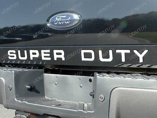 Ford F250 F350 F450 F550 Super Duty Letter
