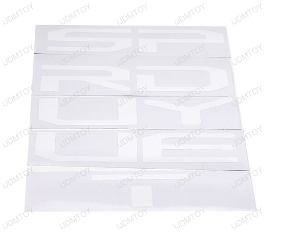 Ford F250 F350 Super Duty Letter Insert