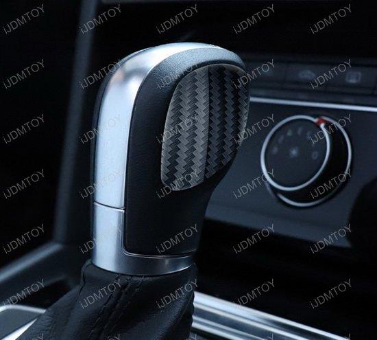 Volkswagen Carbon Fiber Shift Knob Panel