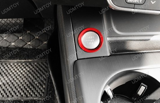 Audi Push Start Button Ring