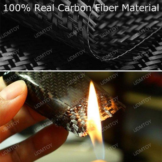 Real Carbon Fiber Subaru Key Holder