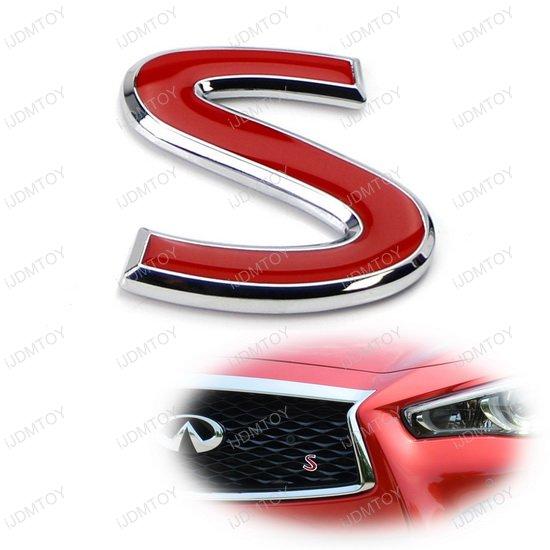 Infiniti Front Grille S Emblem