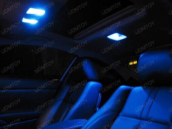 6-SMD D31mm 3175 DE3022 LED Dome Map Lights & 6-SMD-5050 1.25